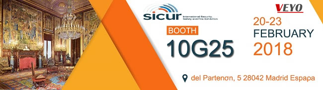 Welcome to SICUR 2018 in Madrid Spain